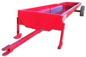 Bunk Feeder With White Background