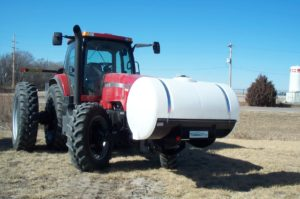 Front Mount Fertilizer Tank