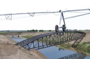 Pivot Bridge White Background