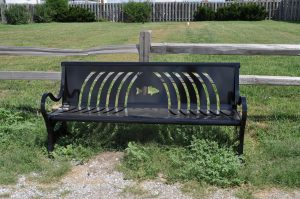 Custom Metal Bench