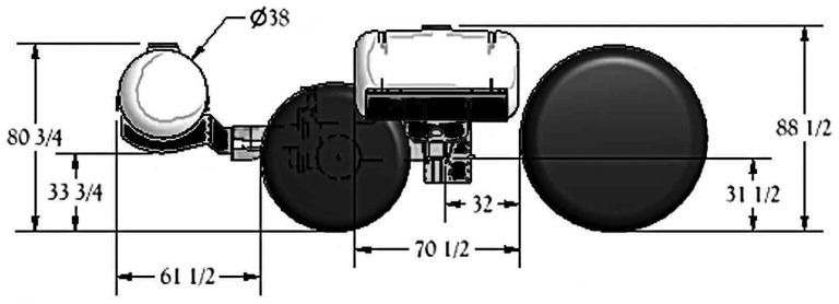 Standard Helicopter Tank Dimensions