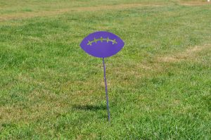 Football Yard Sign