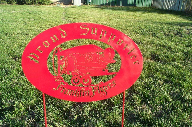 Custom Steel Sign