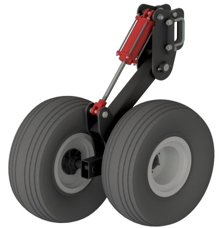 Tool Bar Lift Wheels