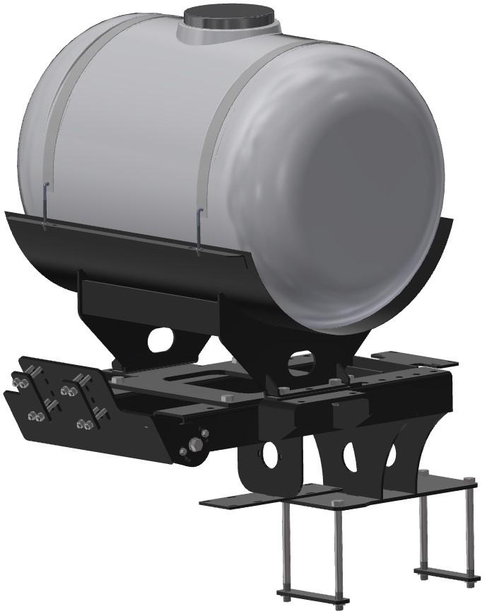 Tool Bar And Planter Mounted Tank