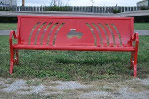 Custom Steel Bench